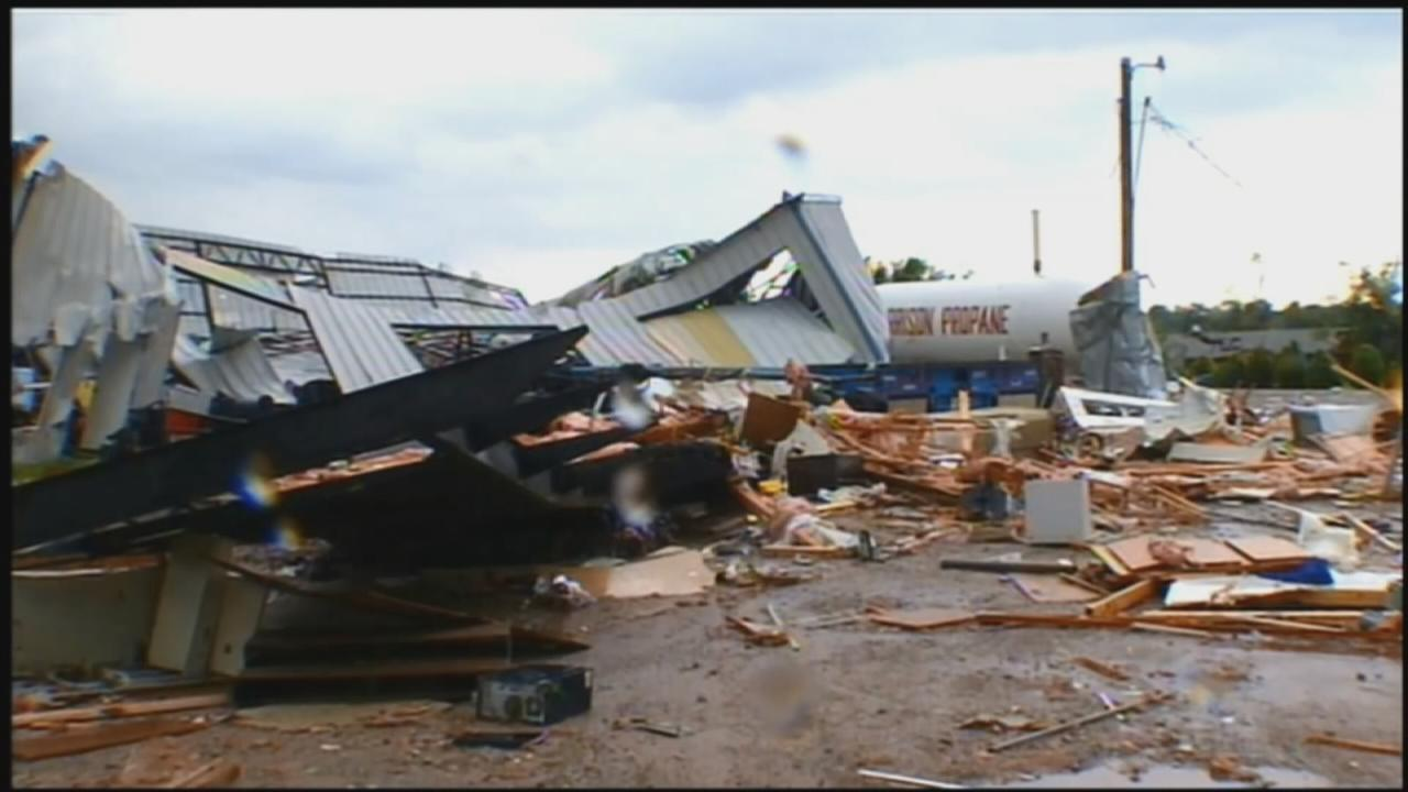 Dozens of Oklahoma homes destroyed