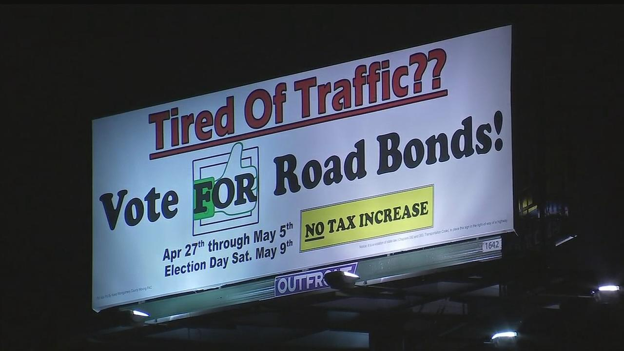 Road bonds proposal