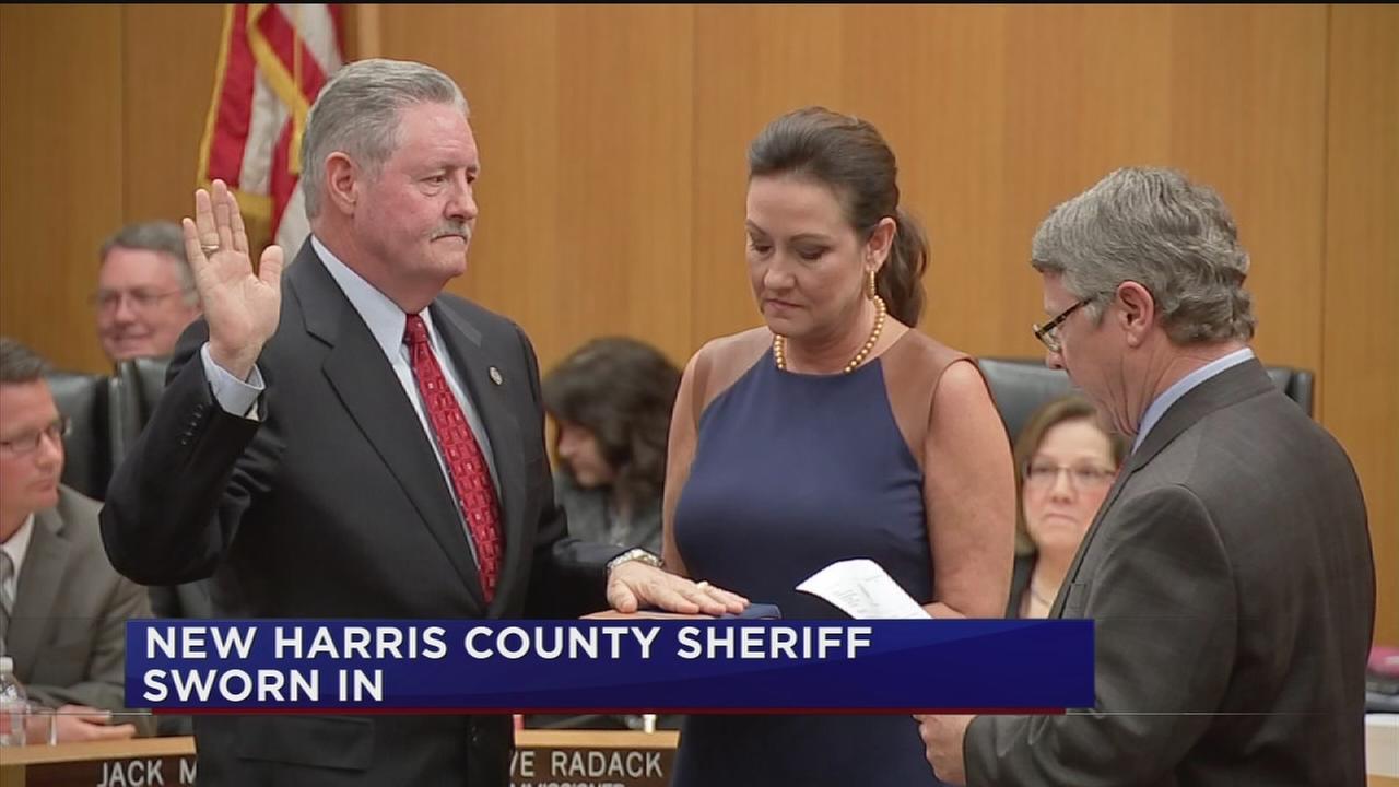 Ron Hickman sworn in as new Harris County Sheriff