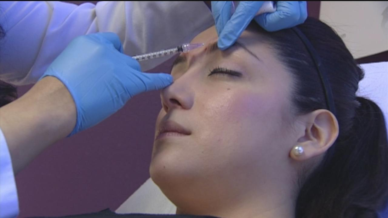Women turn to Botox after bad break up