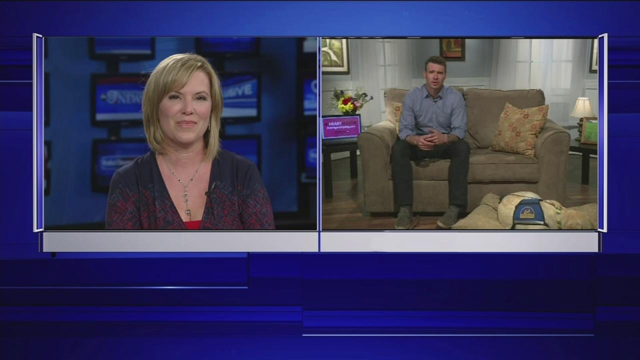 ABC-13 Casey Curry speaks to Scott Foley one-on-one