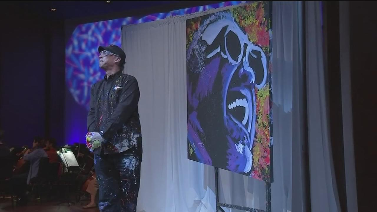 Speed painter returns to Houston
