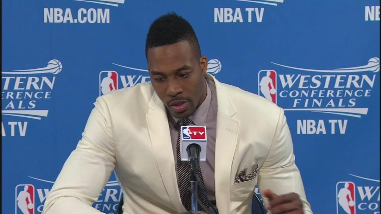 Dwight Howard on his decision to play