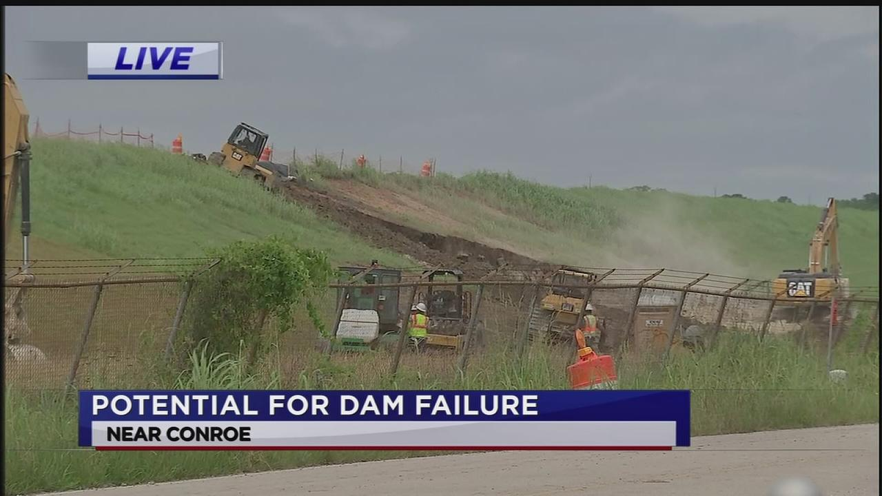 Potential for dam failure