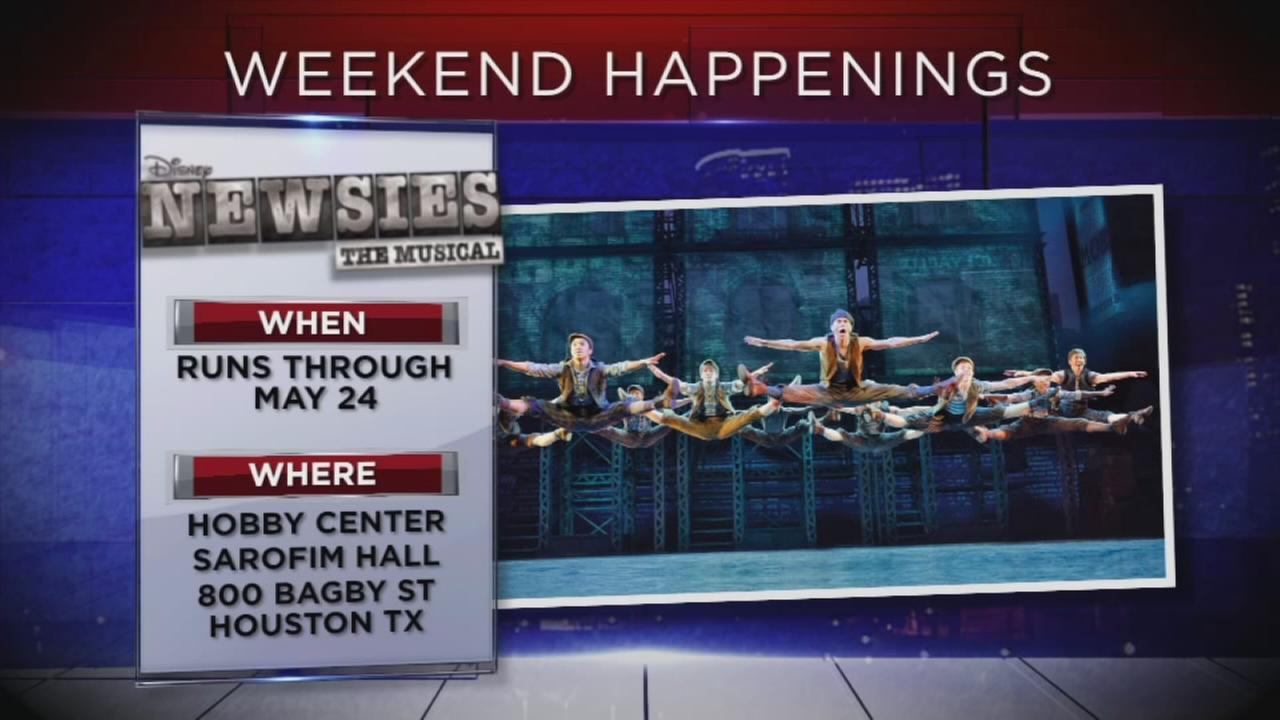 Weekend happenings in and around Houston