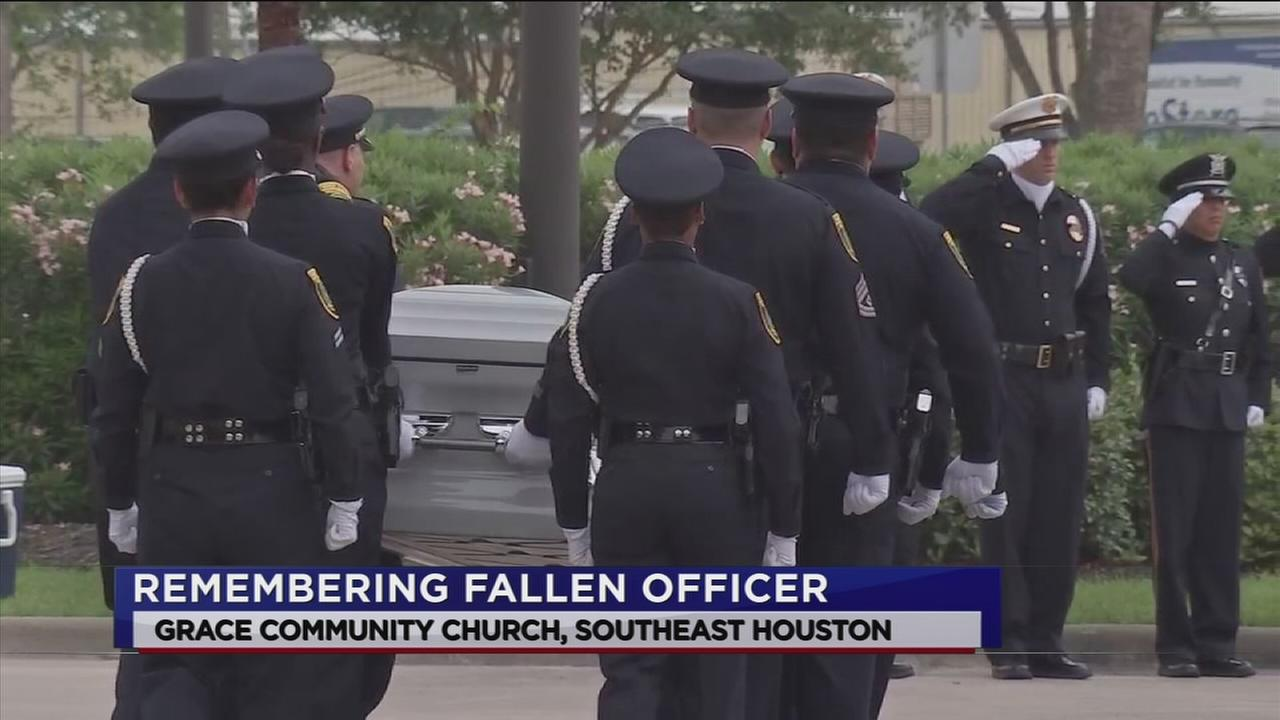 Family, friends remember slain HPD officer