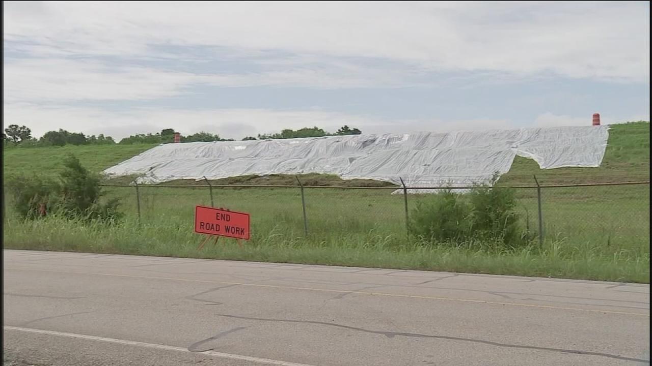 Worried residents keep close eye on dam