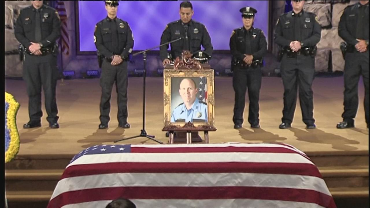 HPD, family and friends honor Officer Richard Martin