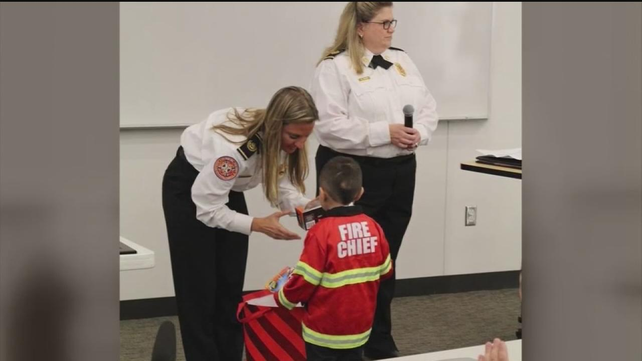 CyFair VFD crew honored for saving critically stabbed boy
