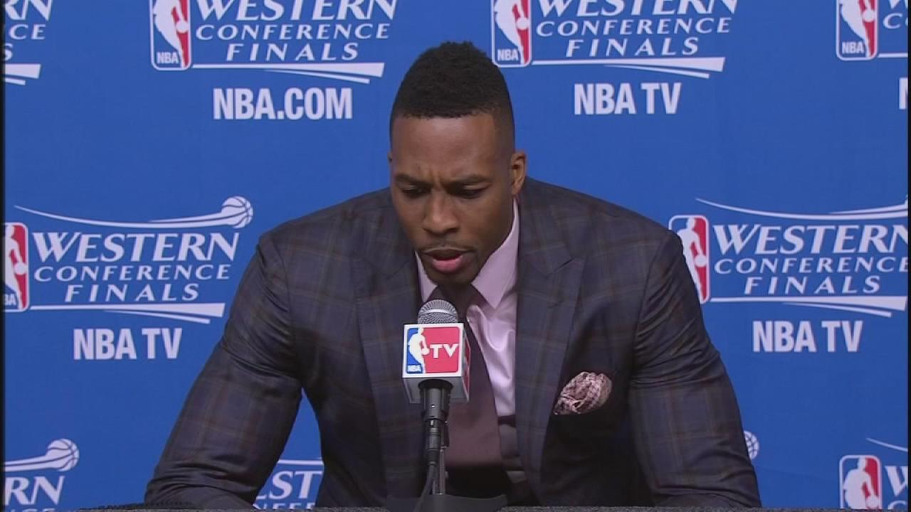 Dwight Howard on the Game 3 loss