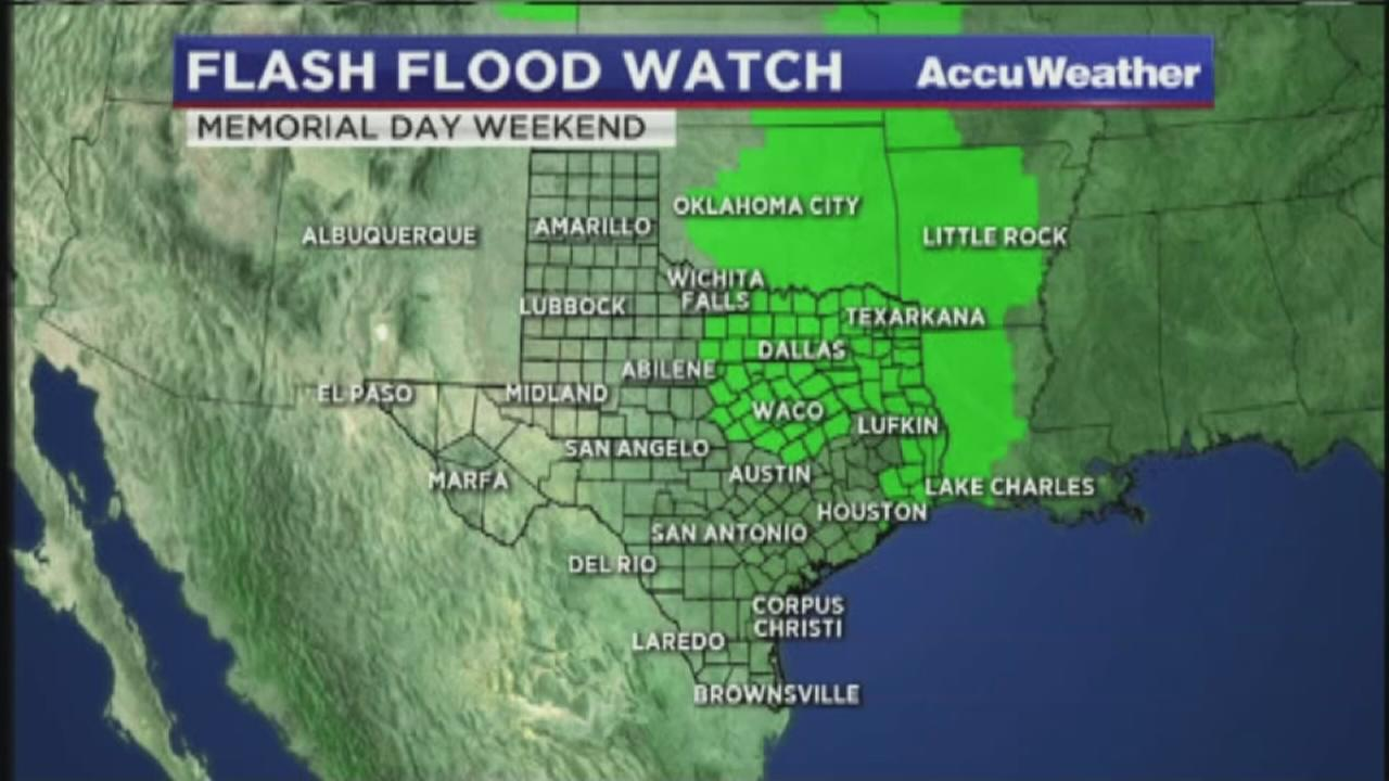Flash Flood Watch now limited