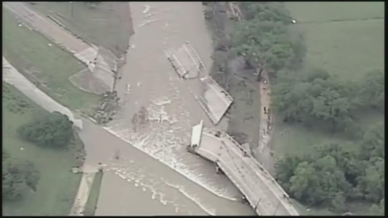 12 people missing in flooding
