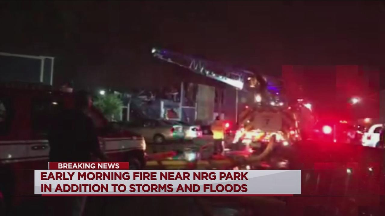 Lightning may have started apartment fire