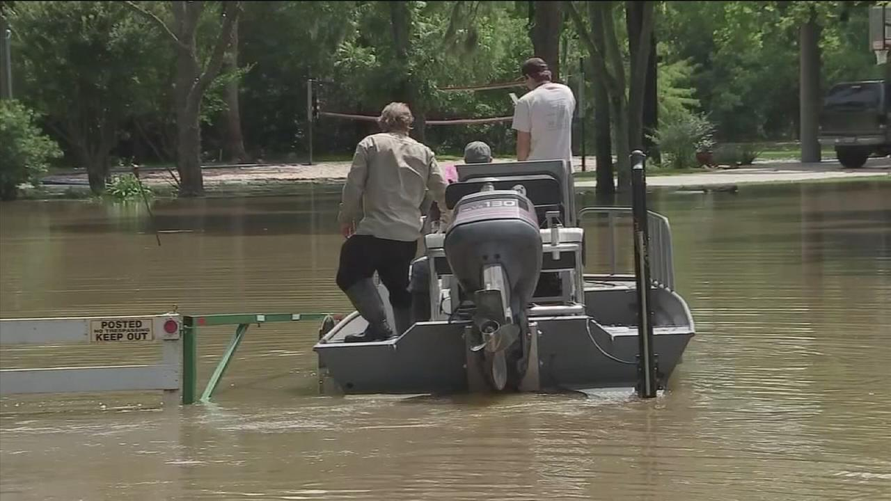 Residents warned of rising San Jacinto River