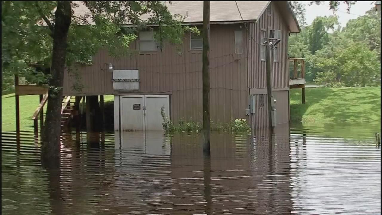 Trinity River poses major flooding risk in Liberty County