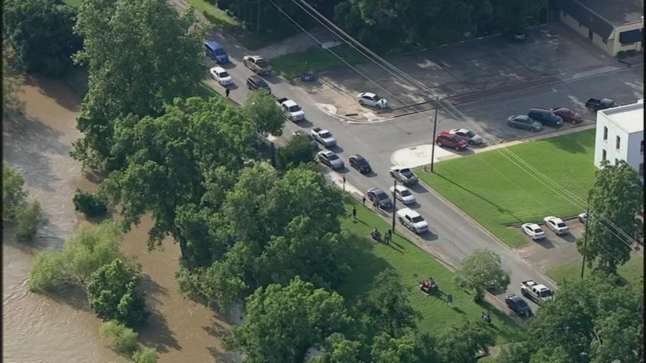 Wharton County under voluntary evacuation
