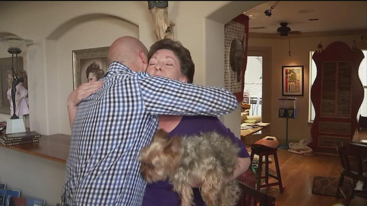 Good Samaritan reunites with woman he saved from flooded car
