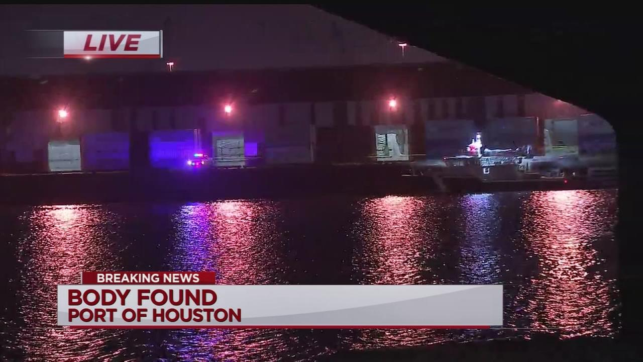 Officials recover body at Port of Houston