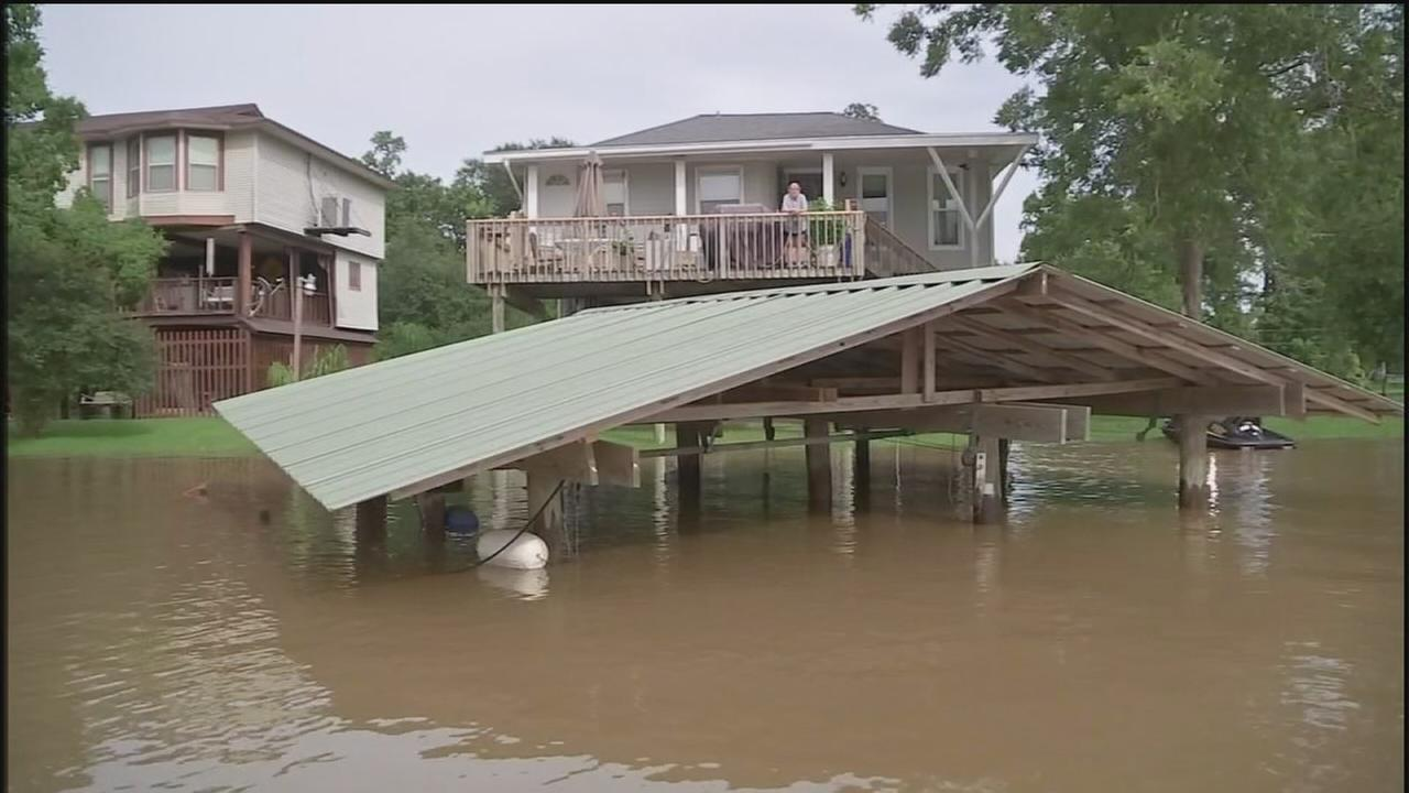 San Jacinto River evacuations continue as waters rise