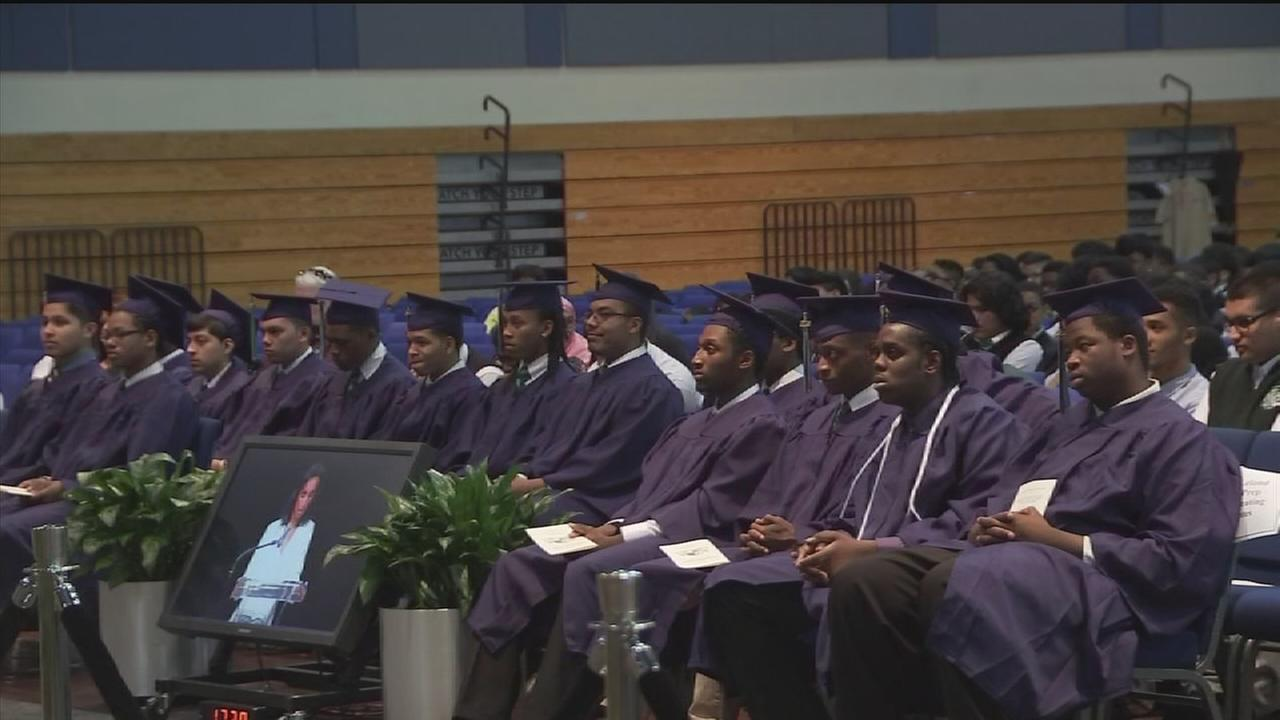 Houston family makes graduation memorable for students