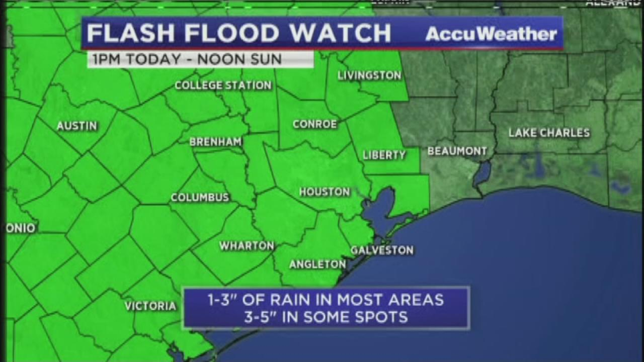 Flash Flood Watch to go into effect