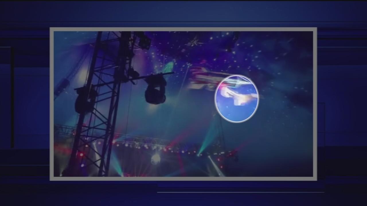 Circus acrobat accident in north Houston
