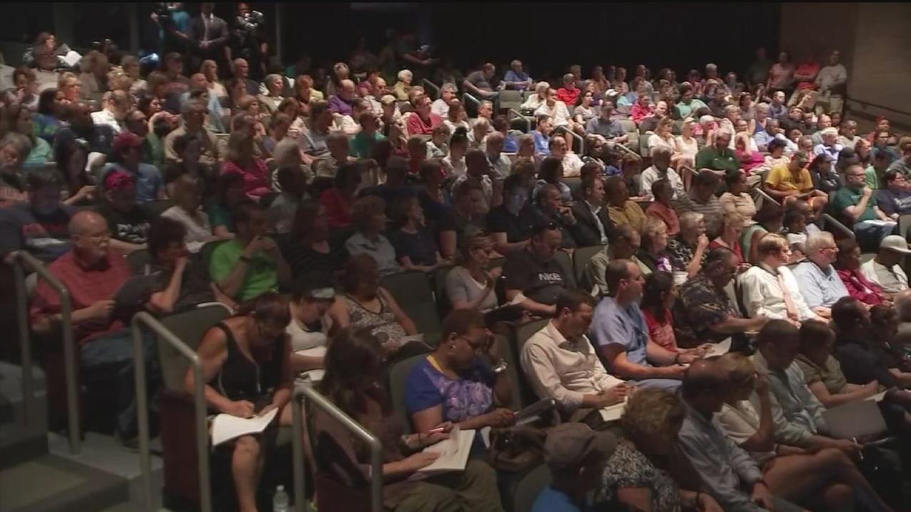 Homeowners upset over FEMAs absence at flood aid meeting