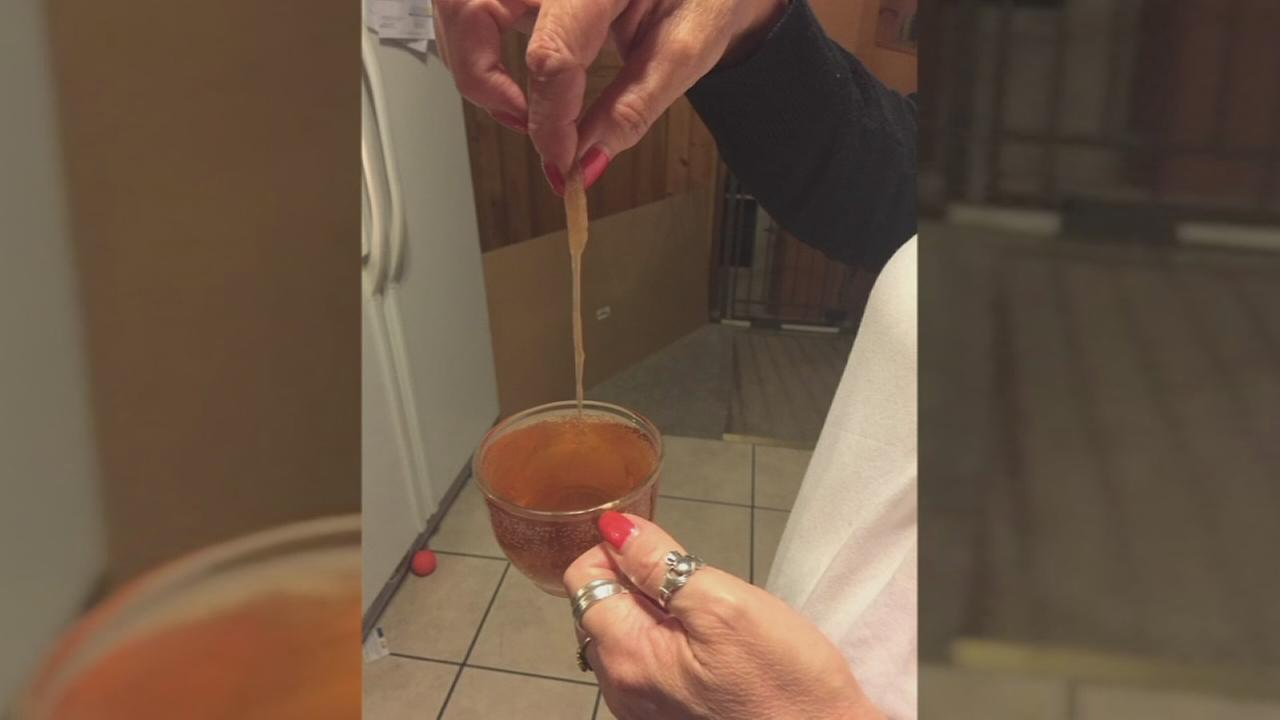 Mom finds mold in juice