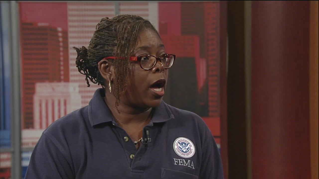 FEMA representative on getting help