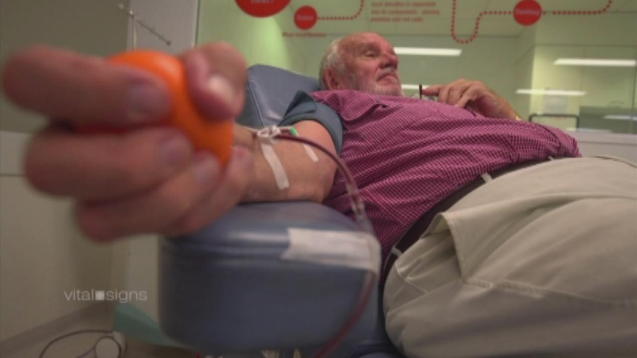 Mans blood saves 2 million babies