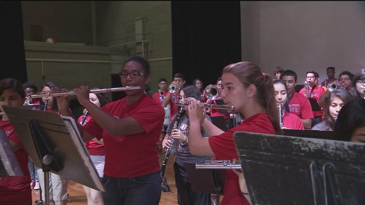 Waltrip HS band raising funds for trip
