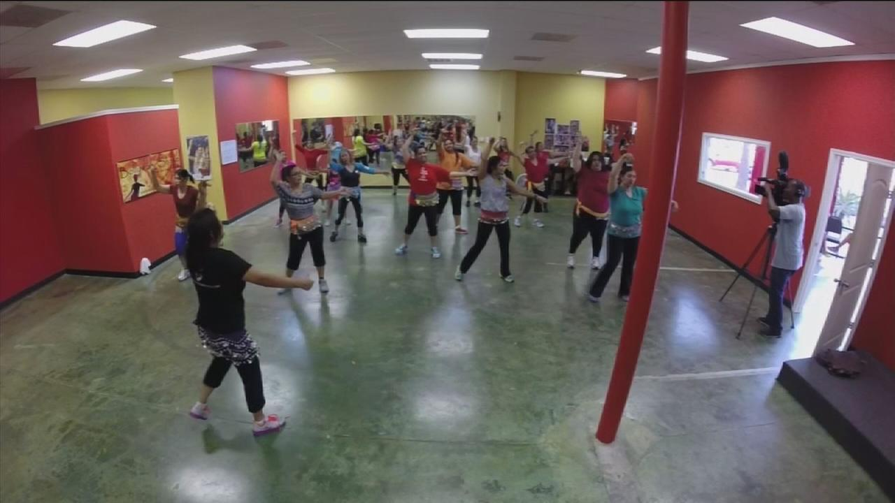 Bollywood at center of exercise class with fun in mind