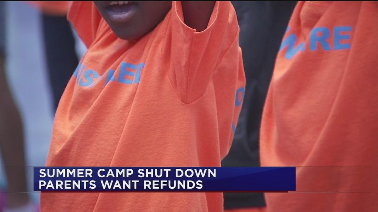 Summer camp closes suddenly