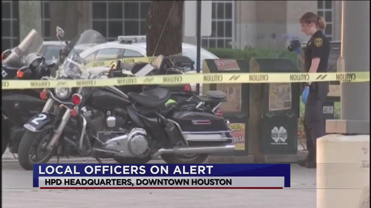 HPD on alert following Dallas shooting incident