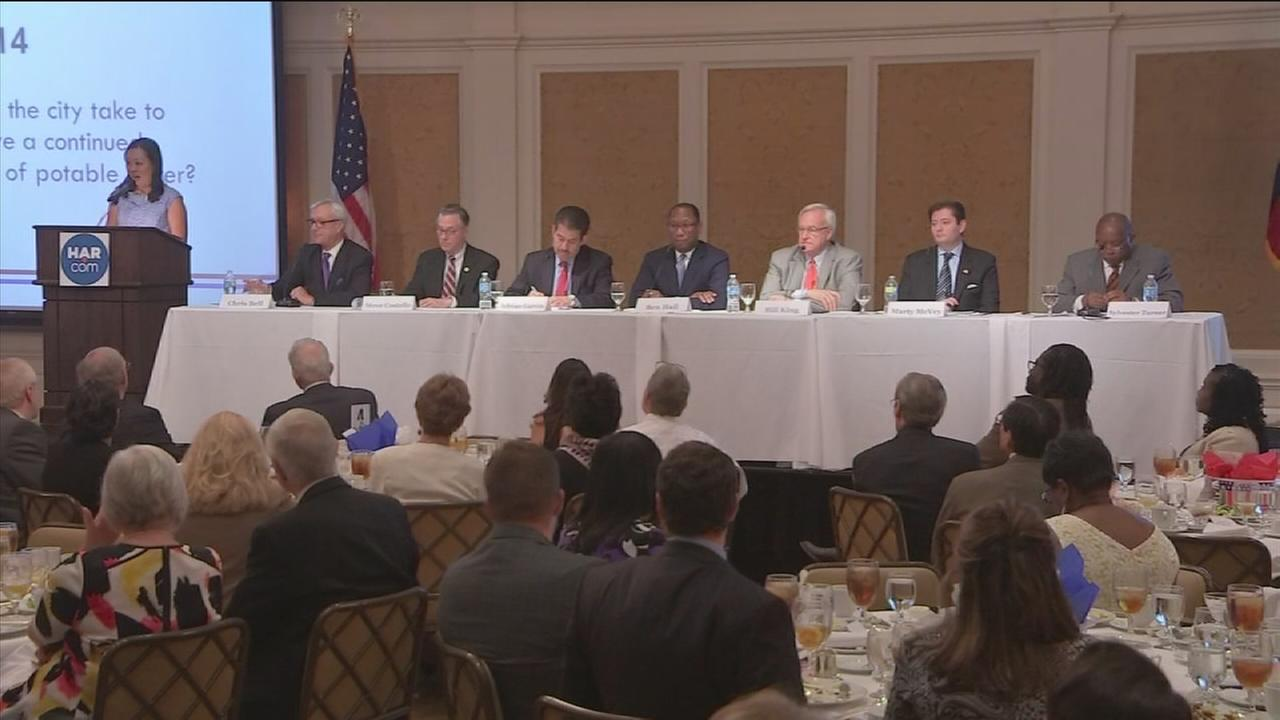 Houston mayoral candidates face off in debate
