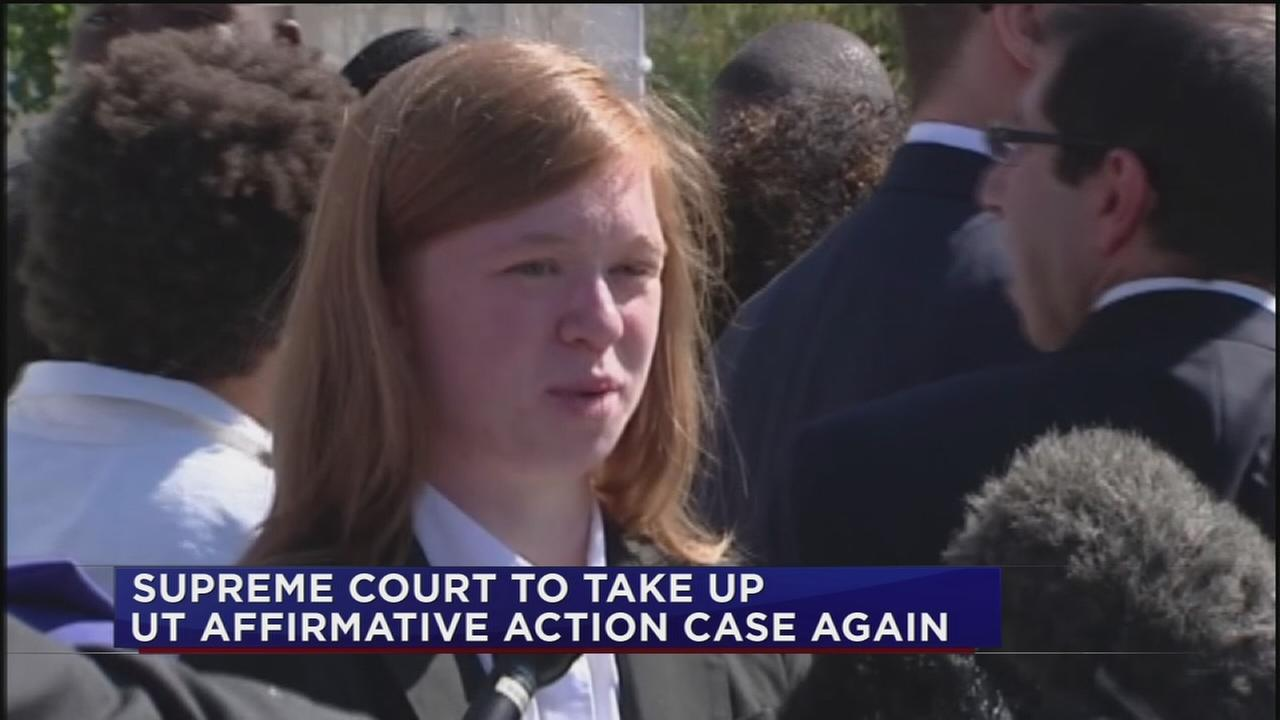 Supreme Court to take up UT Affirmative Action case again