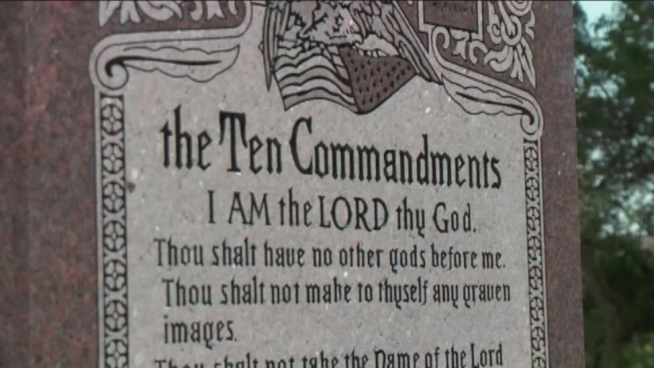 10 Commandments ruling