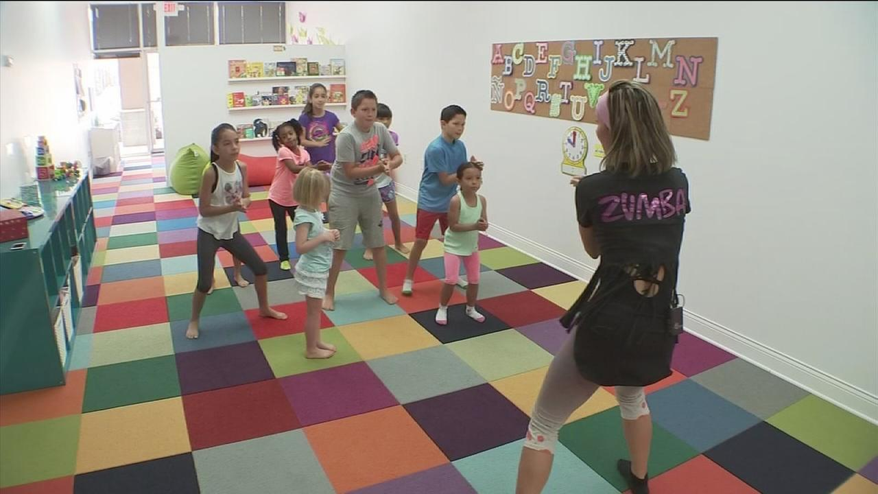 Zumba helping kids open up at school