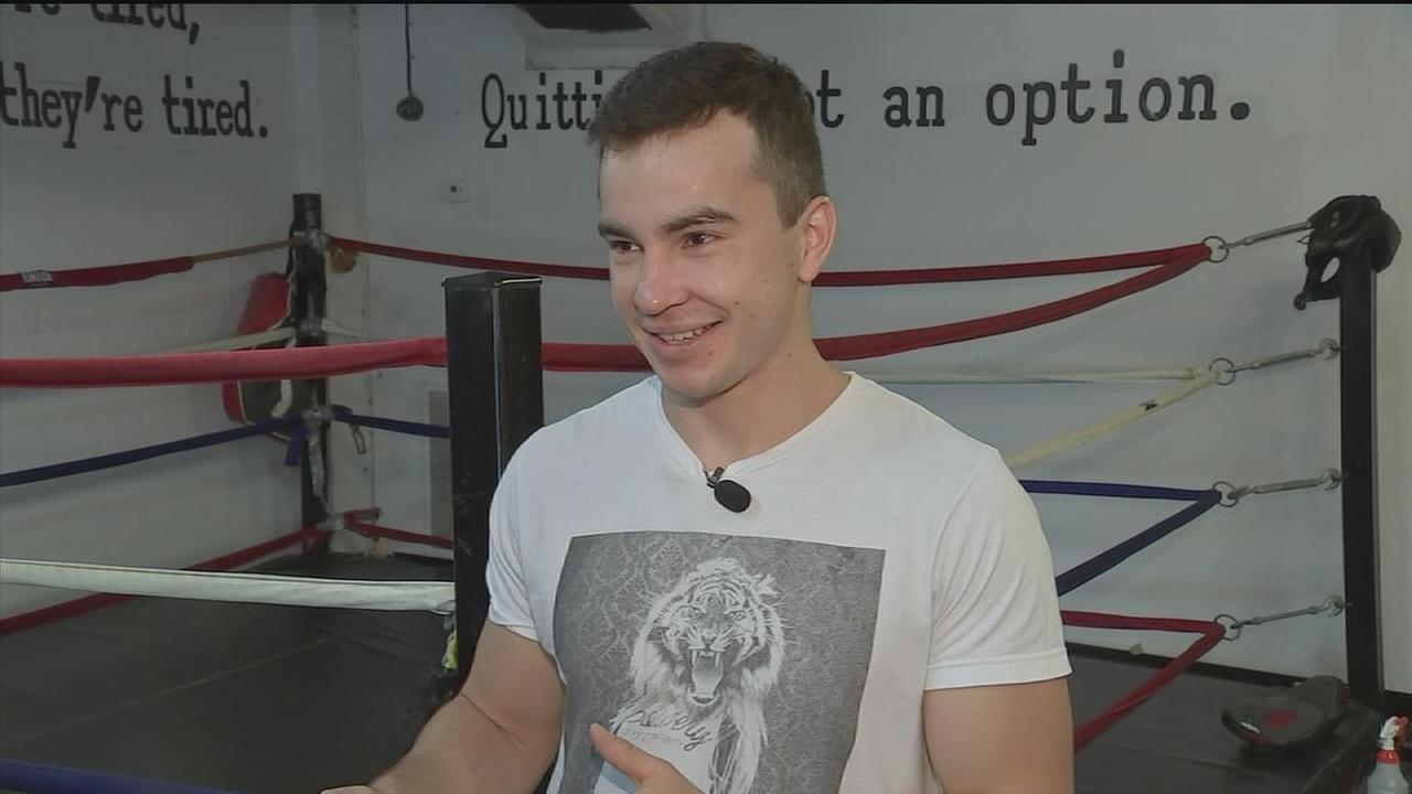 Up and coming Russian boxer starring in Houston fight