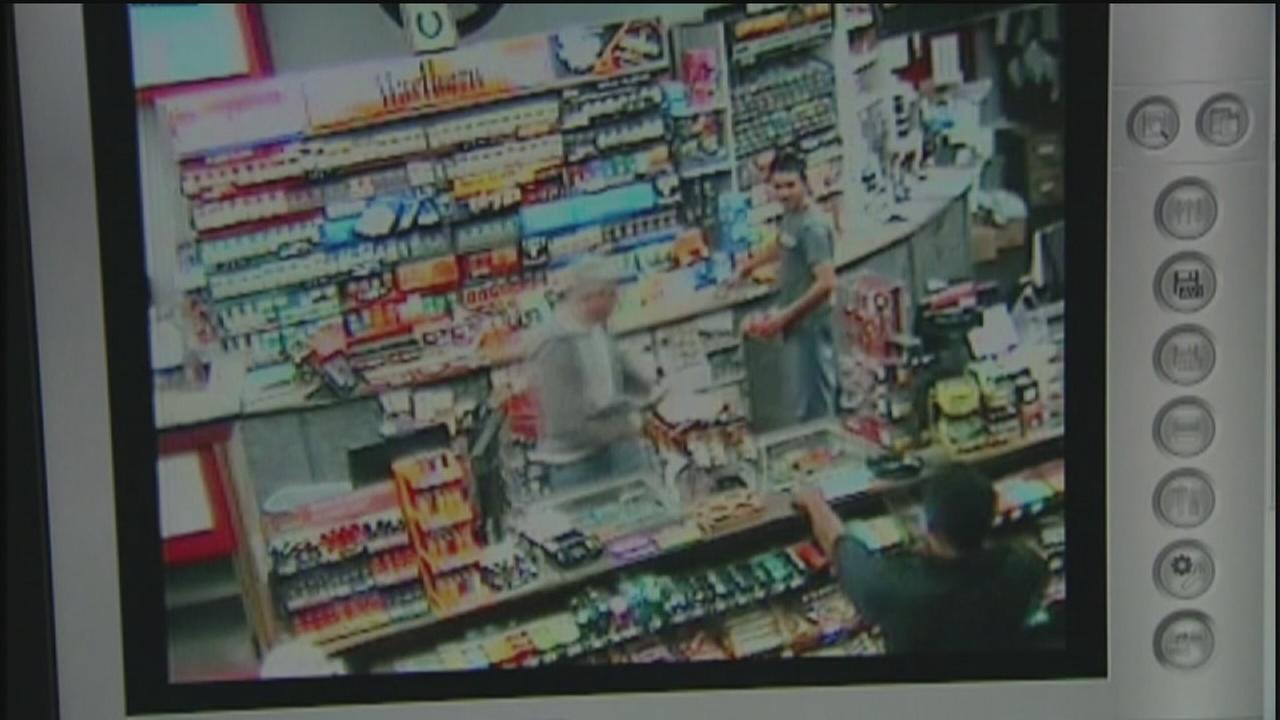 Video shows shootout between clerk, robber