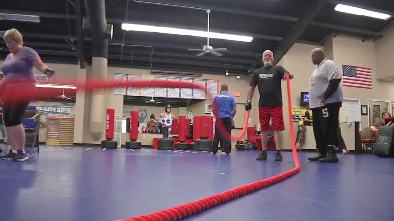 Black belt academy teaches class for Parkinsons sufferers