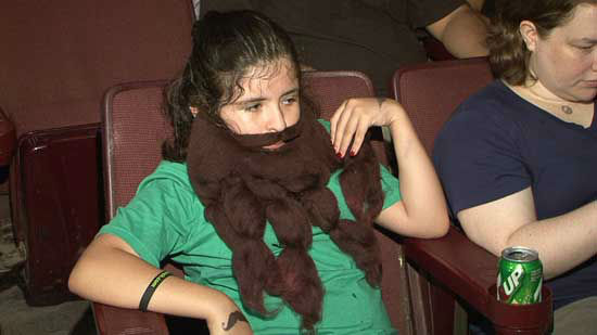 "<div class=""meta ""><span class=""caption-text "">It's not just facial hair.  It's artt!  These are photos from Saturday's Beard and Mustache competition at Super Happy Fun Land  benefitting Shriners Hospital for Children</span></div>"
