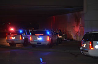 A police chase came to an end after a car crashed into a wall off Highway 6 at I-10 <span class=meta>Photo/HC Investigations</span>