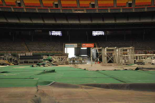Officials gave the media a tour of what's left of the Astrodome on March 21, 2013. <span class=meta>KTRK Photo</span>