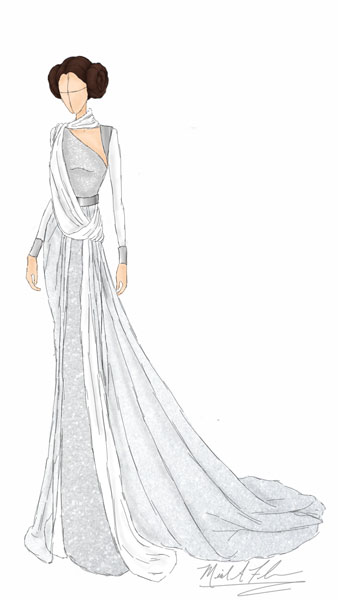 <div class='meta'><div class='origin-logo' data-origin='none'></div><span class='caption-text' data-credit='Michael Anthony Designs'>Inspired by Princess Leia from LucasFilm's 'Star Wars'</span></div>