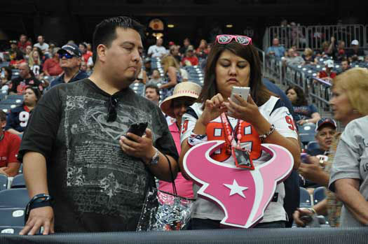 Photos from inside and outside NRG Stadium for tonight&#39;s Texans preseason home opener against Atlanta, Saturday, August 16.. <span class=meta>(Photo&#47;ABC-13)</span>