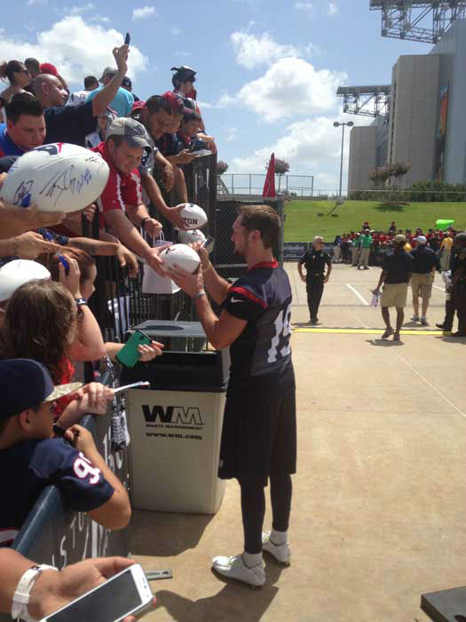 These are photos from Day 2 of Texans training camp <span class=meta>Photo/David Nuno</span>