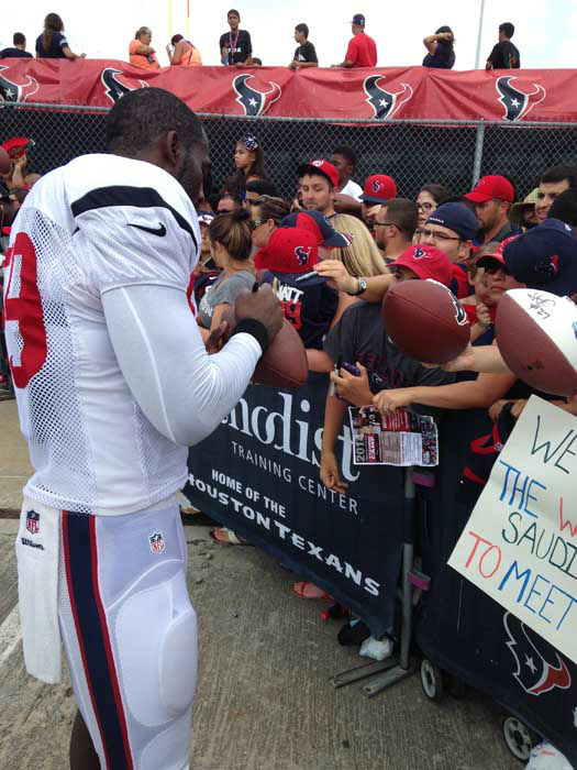 Photos from Day 5 of Texans training camp <span class=meta>Photo/ABC-13</span>