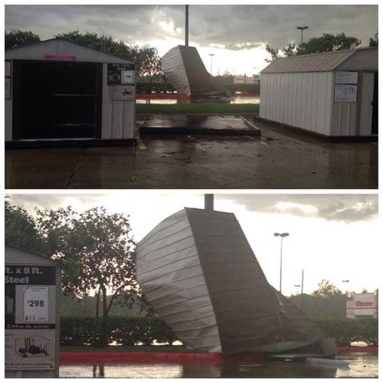These are storm photos from Tomball after a severe thunderstorm moved through the area Monday, July 7. <span class=meta>Photo/iWitness Reports</span>