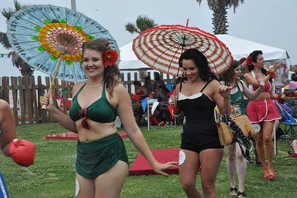 <div class='meta'><div class='origin-logo' data-origin='none'></div><span class='caption-text' data-credit=''>Vintage swimwear styles were all the rage at the Galveston Bathing Beauties Contest, the highlight of the Galveston Island Beach Revue, held Saturday, May 21, 2016.</span></div>